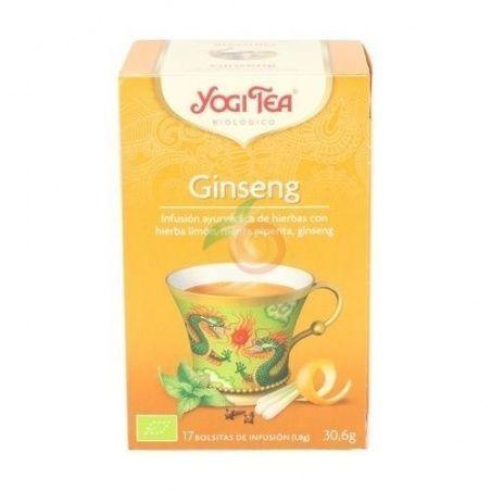 Ginseng flower infusion yogi tea