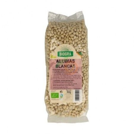 Judias blancas secas bio 500 gramos biogra