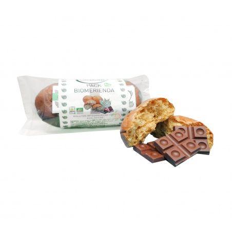 Pack biomerienda y chocolatina eco la campesina