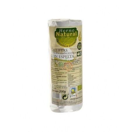 Galletas integrales digestivas de espelta bio 200 gramos horno natural