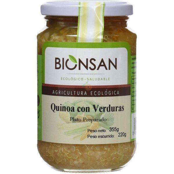 Quinoa con verduras bio vegano 220 gramos bionsan