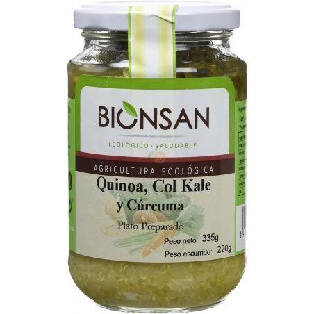 Quinoa con col kale y curcuma eco 220 gramos bionsan