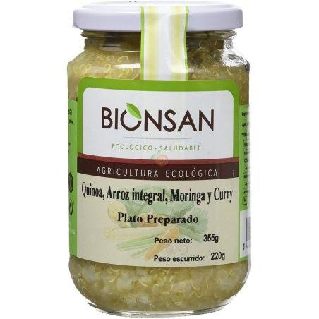 Quinoa con arroz integral y moringa bio 220 gramos bionsan