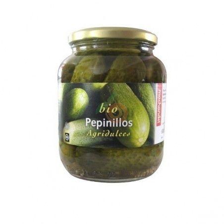 Pepinillos agridulces bio 650 gramos machandel