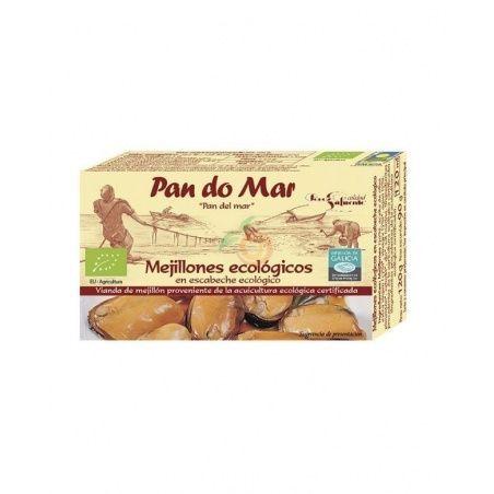 Mejillones en escabeche pan do mar