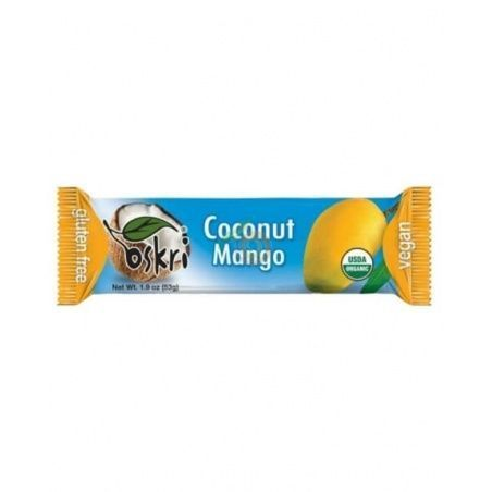Barrita de coco y mango oskri