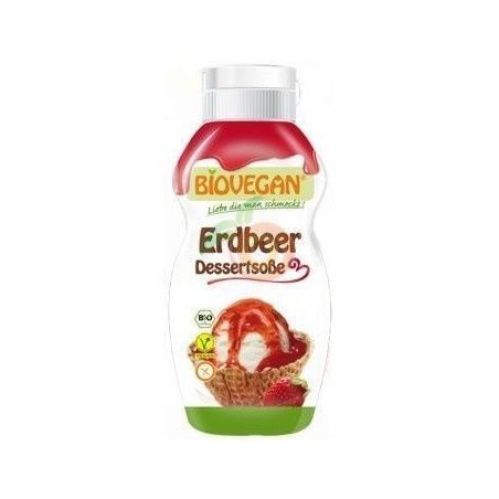 Sirope fresa vegano 250 ml biovegan