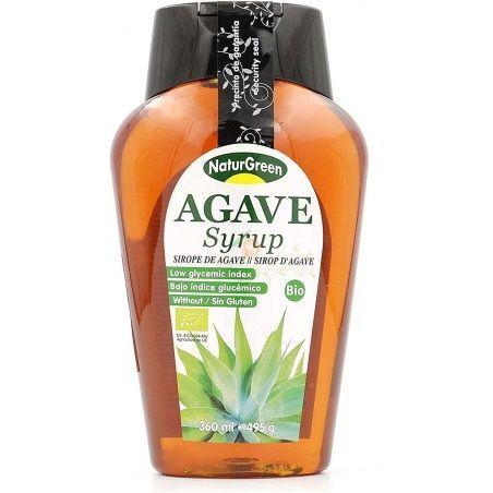 Sirope agave bio 360 ml naturgreen