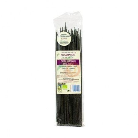 Spagueti integral con algas tierra y mar eco 250 gramos algamar