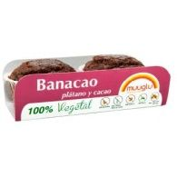 Muffins de plátano y cacao 120 gramos muuglu