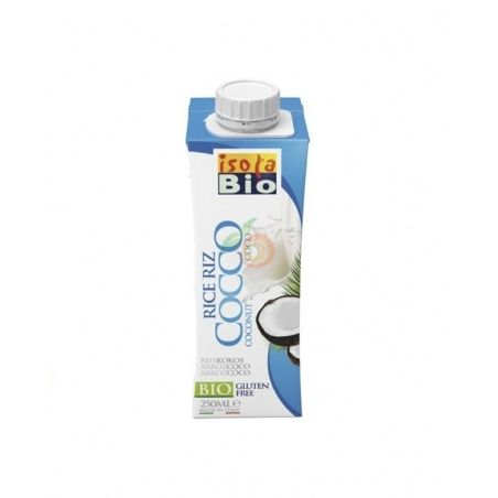 Bebida de arroz coco bio 250 ml isola bio