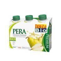 Zumo pera frutini con azucar 3 x 200 ml isola bio