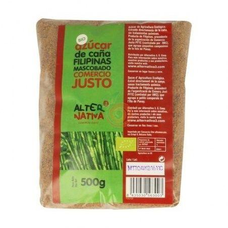 Azucar de caña mascobado bio 500 gramos alternativa 3