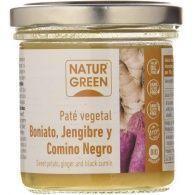 Paté de boniato, jengibre y comino negro bio 130 gramos naturgreen
