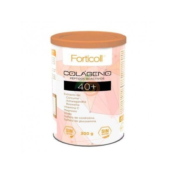 Colágeno péptidos  bioactivo 40+ 300 gramos forticoll