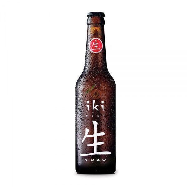 Cerveza te verde y yuzu bio 330 ml iki beer