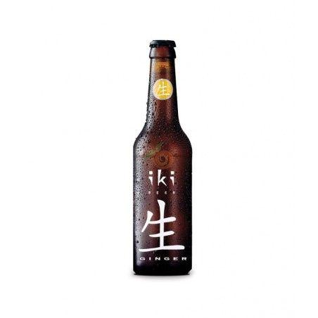 Cerveza te verde y jengibre bio 330 ml iki beer