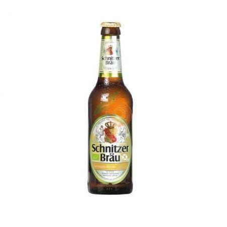 Cerveza mijo limón sin gluten 330 ml schnitzer