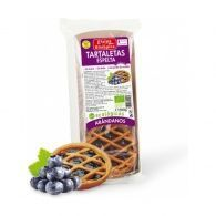 Tartaletas de espelta y arandanos eco vegan espiga bio