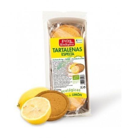 Tartaletas de espelta rellenas de limon espiga bio