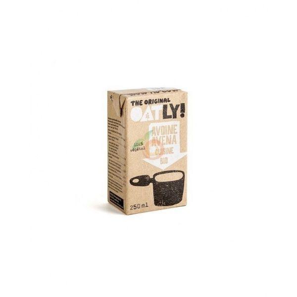 Crema de leche de avena para cocinar 250 ml  oatly