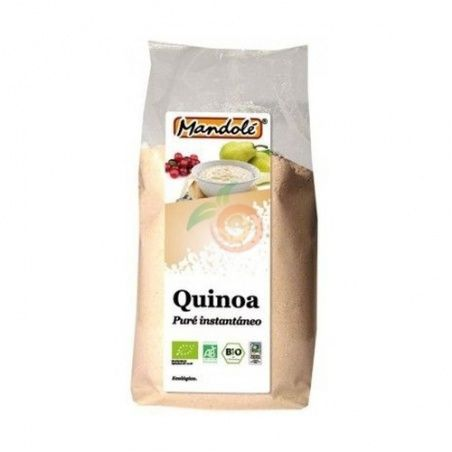 Pure Instantaneo de Quinoa en Polvo Bio 225 gramos Mandole