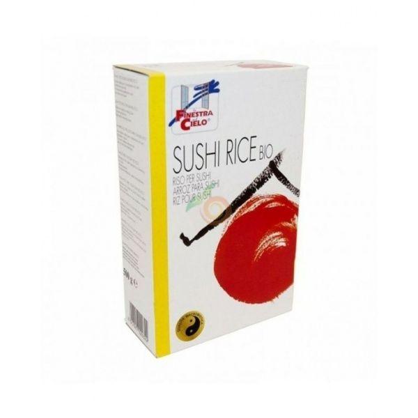 Arroz para sushi bio 500 gramos la finestra