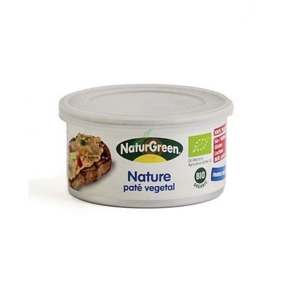 Paté vegetal nature bio 125 gramos naturgreen