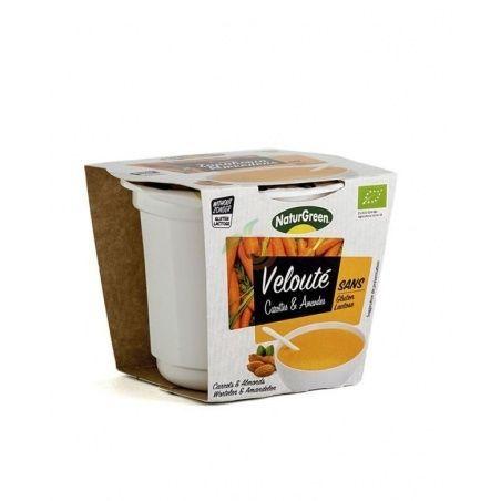 Crema de zanahoria con almendras bio 500 ml naturgreen