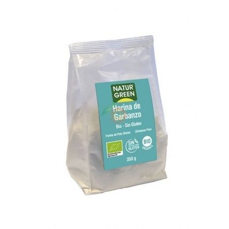 Harina de garbanzos bio 350 gramos naturgreen