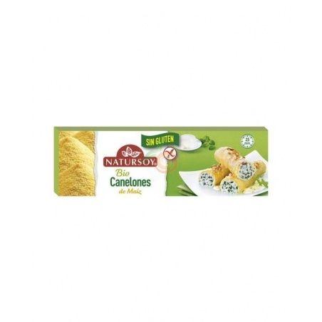 Canelones de maiz sin gluten bio vegano 250 gramos natursoy