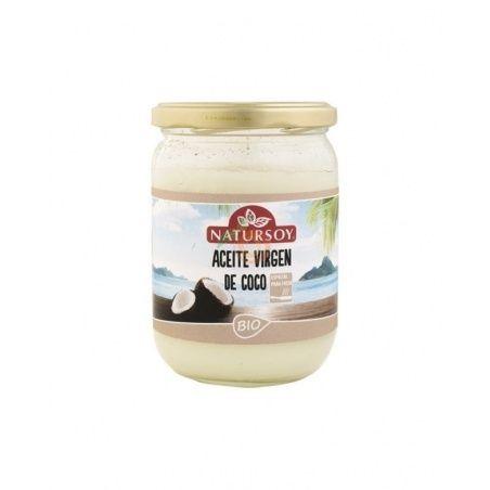 Aceite coco desodorizado bio 400 gramos natursoy