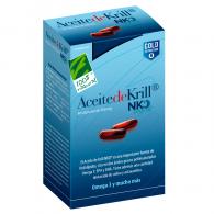 Aceite de krill nko 120 cápsulas cien por cien natural