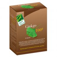 Ginkgo 100 60 cápsulas cien por cien natural